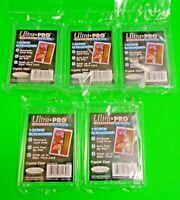 Lot of 5  Ultra Pro 1-SCREW 32pt SCREWDOWN RECESSED Baseball Card Holder #81139