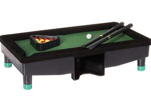 KIDS / MENS MINI TABLE TOP SNOOKER POOL DESKTOP GAME