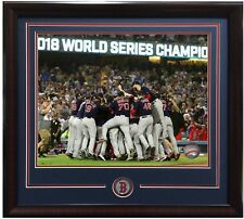 Boston Red Sox 2018 World Series Champs 8x10 team celebration photo framed coin