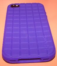 Speck PixelSkin high grade slip on gel case for Apple iPhone 4/4s, Purple, NEW