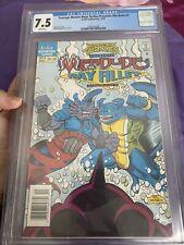 Newsstand CGC7.5 Teenage Mutant Ninja Turtles Merdude Vs Ray Fillet Comic Book 3