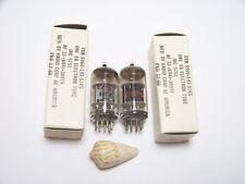 MATCHED PAIR 2 RCA JAN 5751 WA 12AX7 Vtg Stereo Amp Vacuum Tube OEM Part NOS NIB