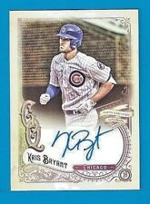 KRIS BRYANT Auto Autograph 2017 Topps Gypsy Queen SSP GQA-KB CUBS MVP