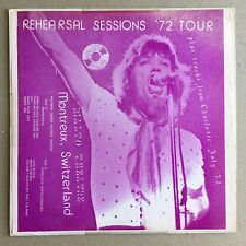 THE ROLLING STONES Rehearsal Sessions '72 Tour CBM
