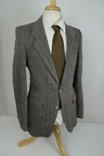 Hardy Aimes VINTAGE COUTURE Tweed Wool~Blazer Sport Coat Jacket Mens 36R S/XS