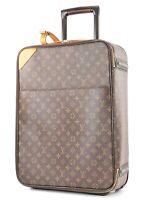 Authentic LOUIS VUITTON Pegase 50 Monogram Canvas Travel Rolling Suitcase #32858
