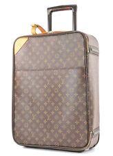 25db35a63176 Authentic LOUIS VUITTON Pegase 50 Monogram Canvas Travel Rolling Suitcase  #32858