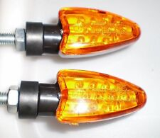 4X LED Jaune Indicateur de direction lampe SUZUKI GSX1200,GV1200GL,TL1000S/R,