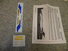 Flightpath decals 1/200 FP20-43 Air West 727-100 blue / gold    N10