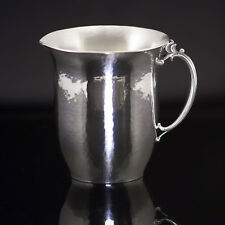 Georg Jensen Hammered Sterling Silver Creamer #456B - Harald Nielsen