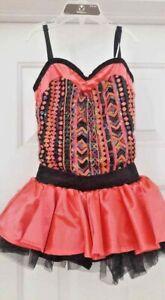 🦋 Girls M Fairy Dress Up Costume Princess Weissman Dance Ballerina IC Summer
