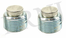 LAND ROVER RANGE ROVER CLASSIC FRONT & REAR DIFFERENTIAL DRAIN PLUG SET MAGNETIC