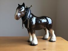 Vintage Melba Ware Shire Horse Equine Rural Countryside Collectable