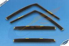 RENAULT SCENIC 5-doors 2003-2009 4-pc wind deflectors HEKO Tinted