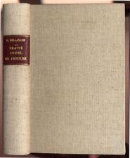 CAMILLE BELLANGER, TRAITÉ USUEL DE PEINTURE A L'USAGE DE TOUT LE MONDE  1906