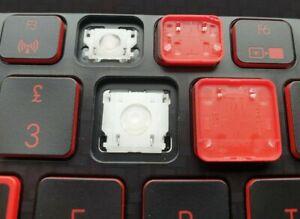 Acer Aspire Nitro 5 AN515 *Single* UK Keyboard Key BLACK + Hinge PK132421A10