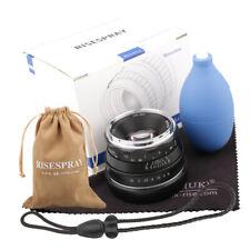 35mm f1.6 Large Aperture Manual Focus APS-C Lens for Fujifilm Fuji X-mount XA5