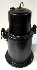 1913-14 & EARLY 1915  CARBIDE ACETYLENE GENERATOR TANK OFF MODEL T FORD  NOS