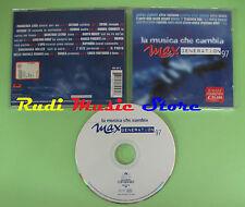 CD MUSICA CAMBIA MAX GENERATION 97 compilation 1997 PROMO VITE SONICA (C21)