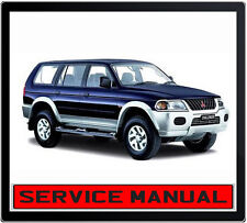 MITSUBISHI CHALLENGER 1998-2006 WORKSHOP SERVICE REPAIR MANUAL IN DVD