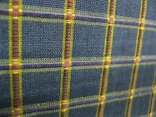 Robert Allen Fabrics Pattern Nicholas Midnight 1 Yd x 55 In Cotton Plaid Texture