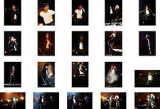 Michael Jackson 20 Photos 4x6 Bad Tour Live Concert Wembley 1988 Pepsi 10x15 Lot