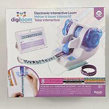 Digiloom Electronic Interactive Loom Starter Kit Create & Weave Bracelets Wowwee