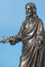 prediger,jesus,bronziert,22cm,figur,veronese,bibel,christentum,jesus christus,