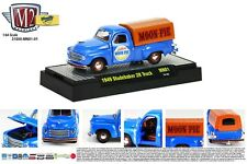 BLUE 1949 STUDEBAKER 2R COVERED BED TRUCK M2MACHINE 1:64 SCALE DIECAST MODEL