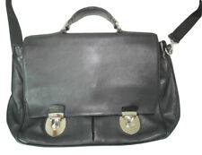 £699.95 THOMAS LYTE MADE IN ENGLAND Briefcase Chrome HARDWARE Messenger