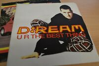 """D : REAM   UR THE BEST THING   7"""" SINGLE  POSTER SLEEVE  1994  MAGNET   MAG 1021"""