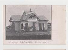 Helena,Oklahoma,Residence of C.E.Walker,Alfalfa County,c.1909