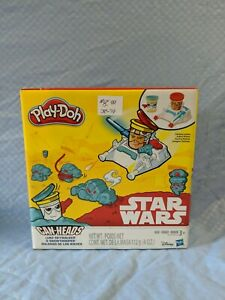 Play-Doh Star Wars Luke Skywalker and Snow trooper Can-Heads BRAND NEW
