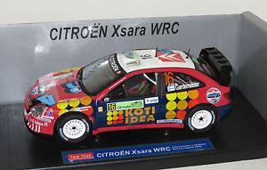 1/18 Citroen Xsara WRC Rally Acropolis Greece 2006  T.Gardemeister