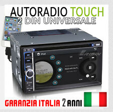 AUTORADIO Touch Navigatore MP3 FIAT CROMA DAL 2005 - DVD/RDS/BLUETOOTH/IPOD/USB