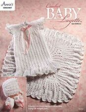 Crochet Baby Layette Victorian Heirloom Ensemble Annie's Attic Pattern 2016 NEW