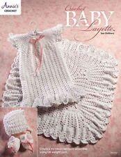 Crochet Baby Layette Victorian Heirloom Ensemble Annie's Attic Pattern 2016 NEW