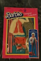 Mattel 1983 Barbie Designer Collection Ski Party Outfit NRFB W/ FREE SHIPPING