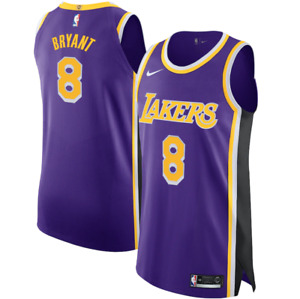 LA Lakers Kobe Bryant Nike #8 Authentic Jersey Statement Edition *FAST SHIPPING*