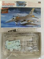 HASEGAWA SS9 F-16C FIGHTING FALCON w/TEXAS ANG 111FS DECALS - 1/72 BUILDERS LOT