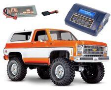 Traxxas TRX-4 Blazer K5 4WD Crawler 1/10 2,4GHz RTR LiPo, Lader - 82076-4SET1