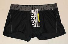 Bonds Mens Black Grey Sports Active Cool Its Trunk Brief Size XL New