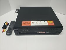 Sony DVP-NC655P 5 Disc DVD Changer *WORKS* with Remote and RCA Cable