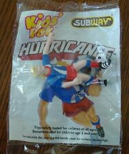 Soccer Player with Blonde Hair from Subway Kids Meal NIP