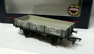 Bachmann 37-925 3 Plamk Wagon BUXTON LIME 48 grey BNIB OO (j)