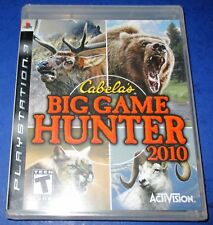 Cabela's Big Game Hunter 2010 PlayStation 3 *Brand New! Sealed! *Free Shipping!