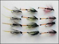 Fishing Flies Blob Flies Blob Fly size 10 Trout Flies 6 x Olive Glow Blobs