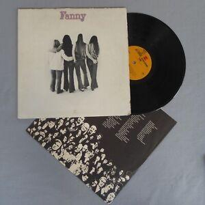 FANNY • Fanny (1970 US LP) Gatefold, Original Reprise 6-416, LISTEN MP3