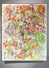 TWIST AGAIN  modern abstract art oil painting