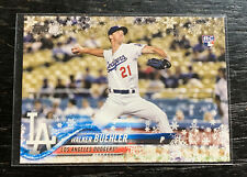 Walker Buehler RC 2018 Topps Holiday HMW61 Los Angeles Dodgers